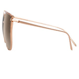 Linda Farrow 809 C5 Cat Eye Sunglasses