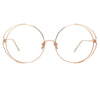Linda Farrow Farah C11 Round Optical Frame
