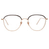 Linda Farrow 819 C10 Square Optical Frame