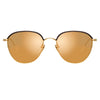 Linda Farrow Raif C2 Square Sunglasses