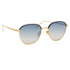 Linda Farrow Raif C5 Square Sunglasses