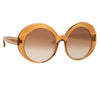 Linda Farrow 844 C4 Oversized Sunglasses