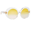 Linda Farrow 844 C5 Oversized Sunglasses