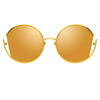 Linda Farrow Quarry C1 Round Sunglasses