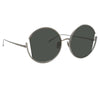 Linda Farrow Quarry C5 Round Sunglasses