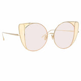 Linda Farrow Austin C9 Cat Eye Sunglasses