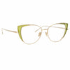 Linda Farrow Des Vouex C14 Cat Eye Optical Frame