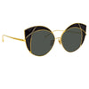 Linda Farrow Albany C1 Cat Eye Sunglasses