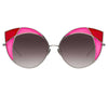 Linda Farrow Albany C5 Cat Eye Sunglasses