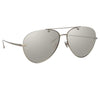 Linda Farrow Pine C2 Aviator Sunglasses