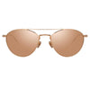 Linda Farrow Caine C3 Aviator Sunglasses