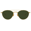 Linda Farrow Caine C4 Aviator Sunglasses