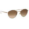 Linda Farrow 876 C7 Aviator Sunglasses