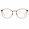Linda Farrow Astley C3 Oval Optical Frame