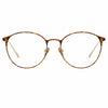 Linda Farrow Astley C4 Oval Optical Frame