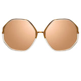 Linda Farrow Alona C4 Oversized Sunglasses
