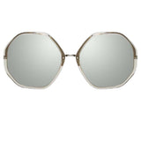 Linda Farrow Alona C5 Oversized Sunglasses