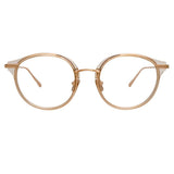 Linda Farrow 911 C9 D-Frame Optical Frame