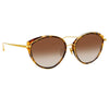 Linda Farrow Ivy C2 Cat Eye Sunglasses