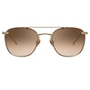 Linda Farrow Anton C6 Square Sunglasses