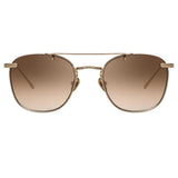 Linda Farrow 922 C6 Square Sunglasses