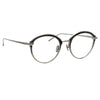Linda Farrow Stanley C2 Oval Optical Frame