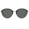 Linda Farrow Stanley C8 Oval Sunglasses