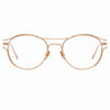 Linda Farrow Cradle C7 Oval Optical Frame