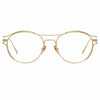 Linda Farrow Cradle C8 Oval Optical Frame