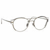 Linda Farrow Cradle C9 Oval Optical Frame