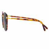 Linda Farrow Trouper C2 Square Sunglasses