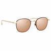 Linda Farrow Trouper C5 Square Sunglasses