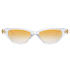 Linda Farrow 965 C4 Cat Eye Sunglasses
