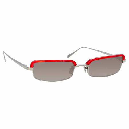 Linda Farrow 968 C3 Rectangular Sunglasses