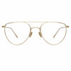 Linda Farrow Auguste C2 Aviator Optical Frame
