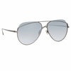 Linda Farrow 975 C5 Aviator Sunglasses