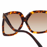Linda Farrow Dare C2 Oversized Sunglasses