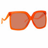 Linda Farrow 981 C5 Oversized Sunglasses
