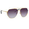 Matthew Williamson 221 C1 Aviator Sunglasses