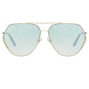 Matthew Williamson 221 C3 Aviator Sunglasses