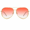 Matthew Williamson Heather C10 Aviator Sunglasses