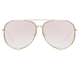 Matthew Williamson 222 C4 Aviator Sunglasses
