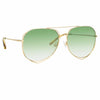 Matthew Williamson Heather C8 Aviator Sunglasses