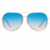 Matthew Williamson Heather C9 Aviator Sunglasses