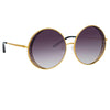 Matthew Williamson 226 C1 Round Sunglasses