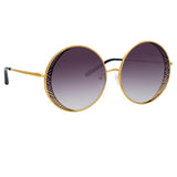 Matthew Williamson Blossom C1 Round Sunglasses