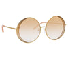 Matthew Williamson 226 C2 Round Sunglasses
