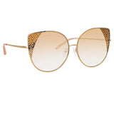 Matthew Williamson 227 C2 Oversized Sunglasses