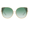 Matthew Williamson 227 C3 Oversized Sunglasses