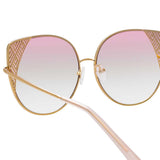 Matthew Williamson 227 C4 Oversized Sunglasses